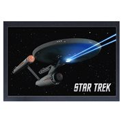 Star Trek: The Original Series U.S.S. Enterprise Framed Art Print