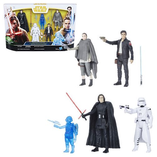 Star Wars The Last Jedi Figure 5-Pack - Exclusive