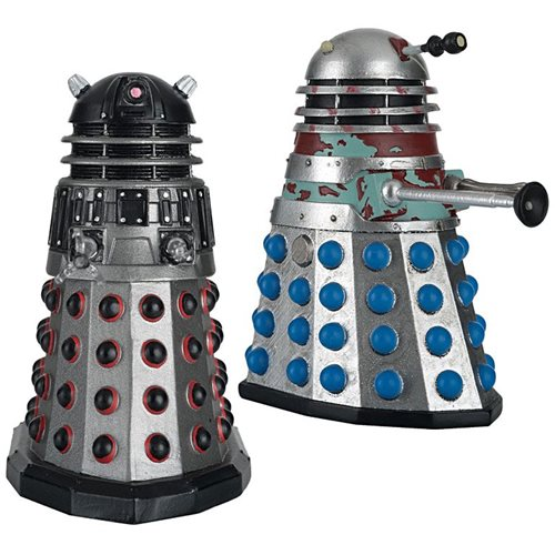 Doctor Who Collection Timelords Victorious Set #3 Dalek Executioner and Dalek Strategist Figures