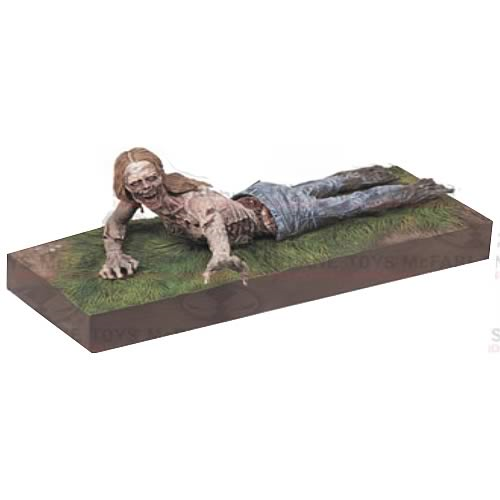 The Walking Dead TV Series 2 Bicycle Girl Zombie Figure