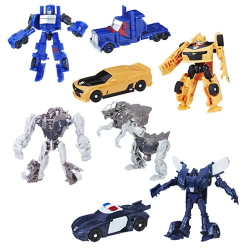 Transformers The Last Knight Legion Wave 1 Set