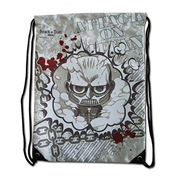 Attack on Titan Super Deformed Titan Drawstring Bag