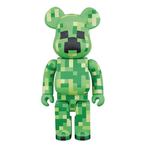 Minecraft Creeper 400% Bearbrick Figure
