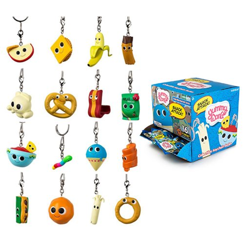 Yummy World Snack Attack Series Key Chain Display Box