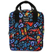 Coco Icon Print Backpack