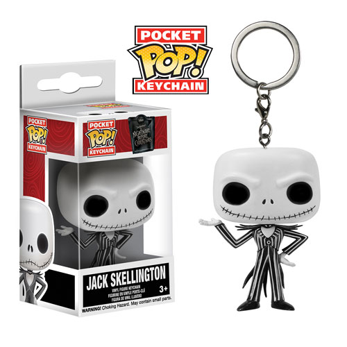 The Nightmare Before Christmas Jack Skellington Pop! Vinyl Figure Key Chain