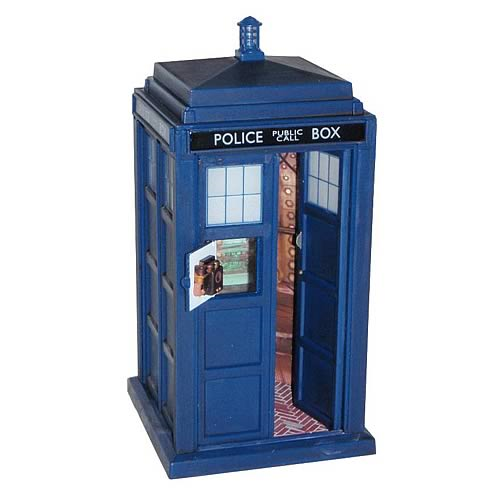 Doctor Who Electronic Flight Control TARDIS Vehicle