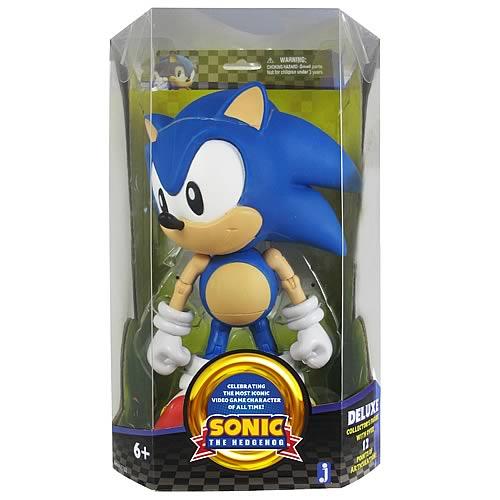 Sonic The Hedgehog 20th Anniv 10 Inch Classic Sonic Figure Entertainment Earth