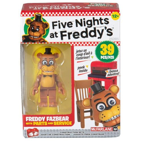 Five Nights at Freddy's Series 6 Parts And Services Micro Construction Set