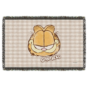 Garfield Watercolor Woven Tapestry Throw Blanket