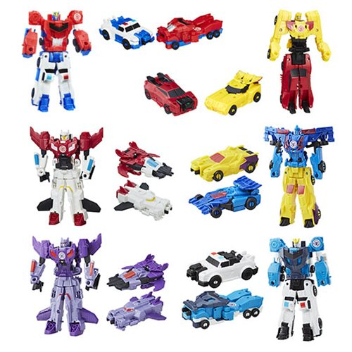 Transformers Robots in Disguise Crash Combiners Wave 4 Case