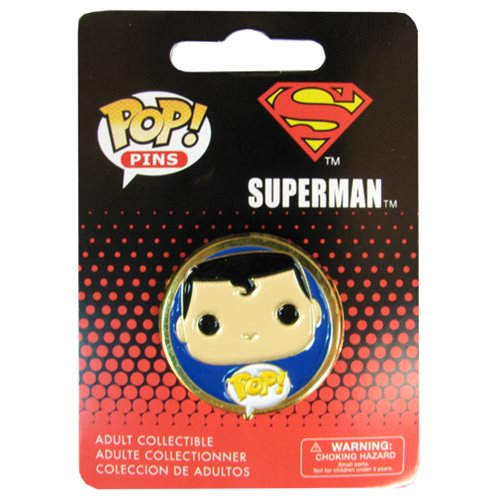 Superman Pop! Pin