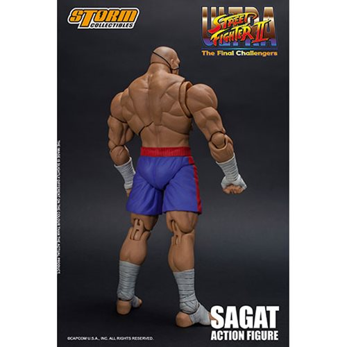 Street Fighter Sagat 1:12 Scale Action Figure