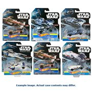 Star Wars Hot Wheels Carships Mix 3 Case