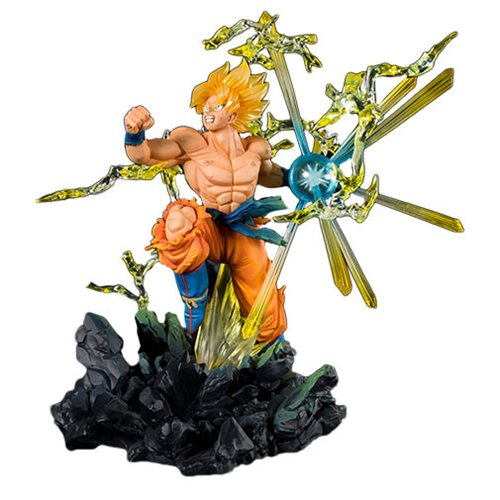 Dragon Ball Z Super Saiyan Son Goku The Burning Battles FiguartsZERO Statue