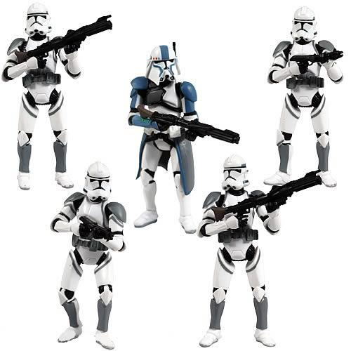 Star Wars Clone Attack Action Figure Battle Pack