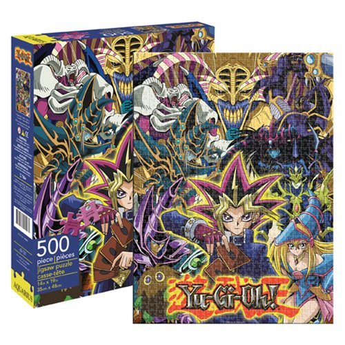 Yu-Gi-Oh 500-Piece Puzzle