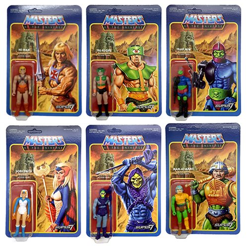 Masters of the Universe 3 3/4-inch Retro Action Figure Wave 2 Set