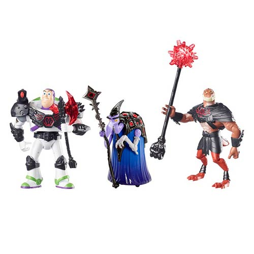 Toy Story That Time Forgot Battleopolis Action Figure 3-Pack
