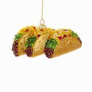 Tacos 5 1/4-Inch Glass Ornament