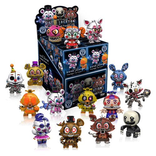 Five Nights at Freddy's Mystery Minis Series 2 Display Case