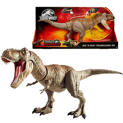 Jurassic World Bite 'n Fight T-Rex Action Figure