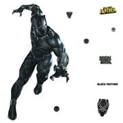 Black Panther Peel and Stick Giant Wall Decals