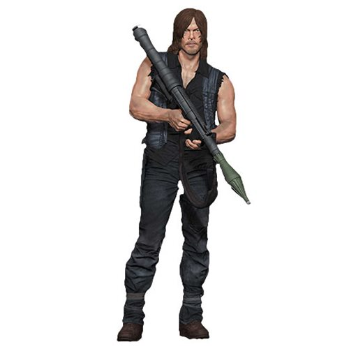 The Walking Dead Daryl Dixon with Rocket Launcher 10-Inch Action Figure