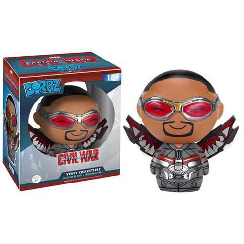 Captain America: Civil War Falcon Dorbz Vinyl Figure