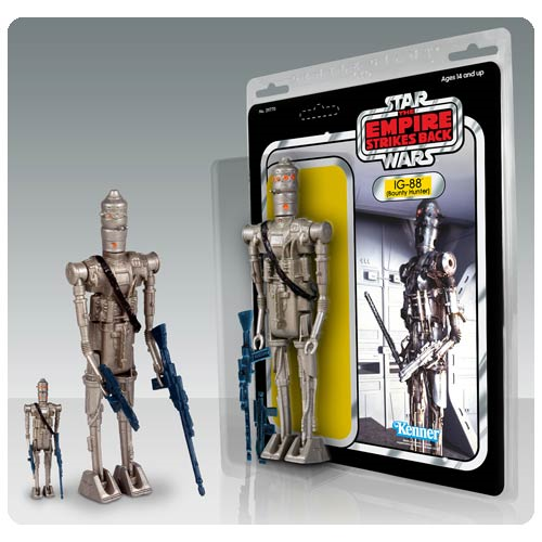 Star Wars IG-88 Assassin Droid Jumbo Kenner Action Figure