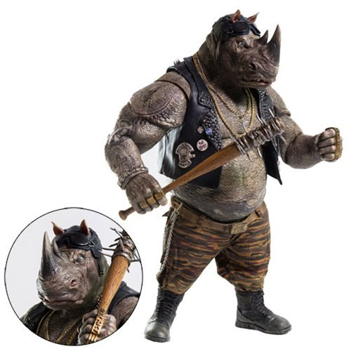 Teenage Mutant Ninja Turtles: Out of the Shadows Rocksteady 1:6 Scale Action Figure
