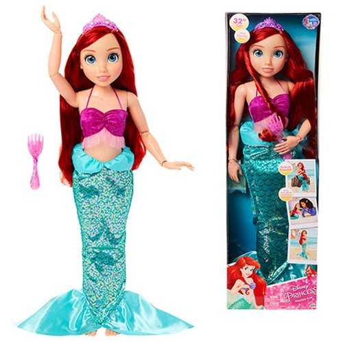 Disney Princess Little Mermaid Ariel 32-Inch Playdate Doll