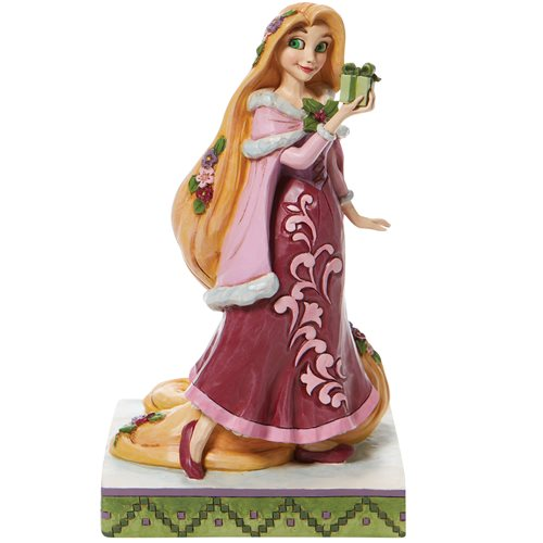 Disney Traditions Tangled Rapunzel with Gifts of Peace by Jim Shore Statue