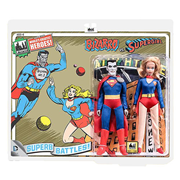 Superman Bizarro vs. Supergirl 8-Inch Action Figure Set
