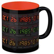 Back to the Future Control Panel Ceramic Mug