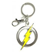 The Flash Logo Pewter Key Chain