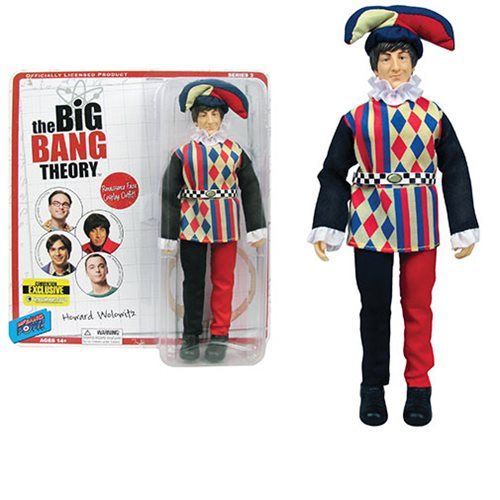 The Big Bang Theory Howard in Jester Costume 8-Inch Action Figure - Convention Exclusive