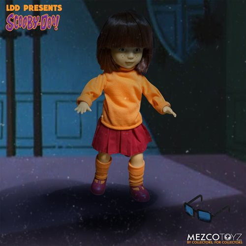 LDD Presents Scooby-Doo & Mystery Inc. Build a Figure Velma & Fred 2-Piece Set