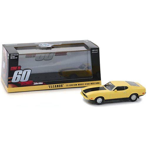 "Gone in 60 Seconds 1974 - 1973 Ford Mustang Mach 1 ""Eleanor"" 1:43 Scale Die Cast Metal Vehicle"