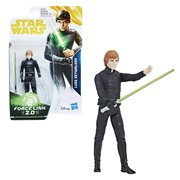 Star Wars Solo Force Link 2.0 Luke Skywalker (Jedi Knight) 3 3/4-Inch Action Figure