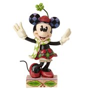 Disney Traditions Minnie Mouse Holiday Statue