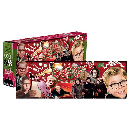 A Christmas Story 1,000-Piece Slim Puzzle