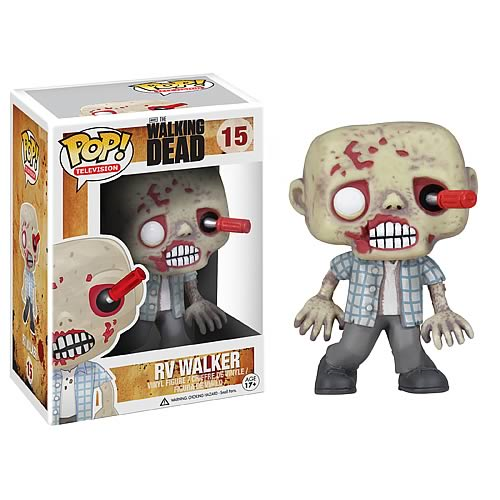 The Walking Dead RV Walker Zombie Pop! Vinyl Figure