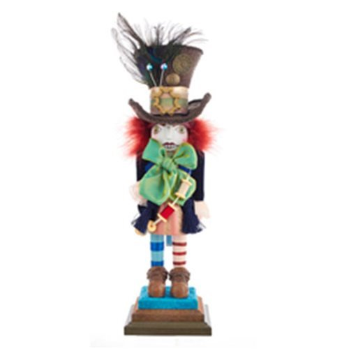 Hollywood Hatter 18-Inch Wooden Nutcracker