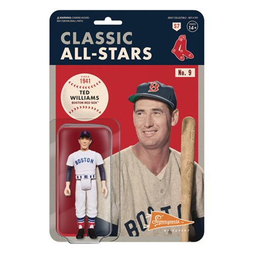 Major League Baseball Classic Ted Williams (Boston Red Sox) ReAction Figure