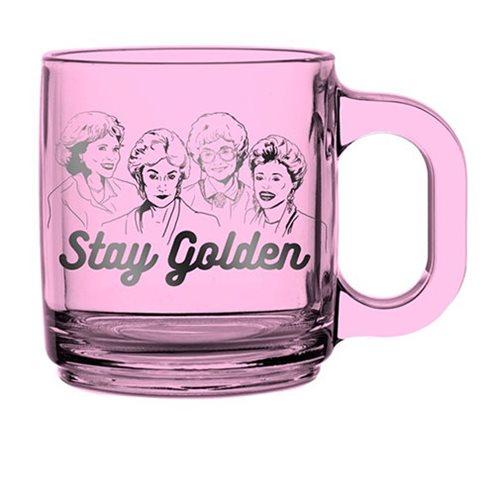 d6f1f1b1932 Golden Girls Stay Golden Pink Mug - Entertainment Earth