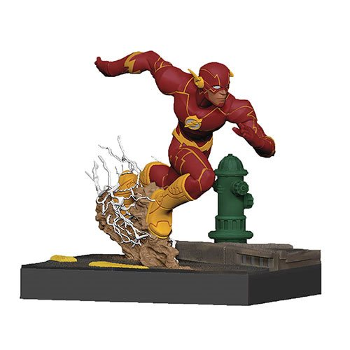 DC Rebirth Flash Finders Keypers Statuette