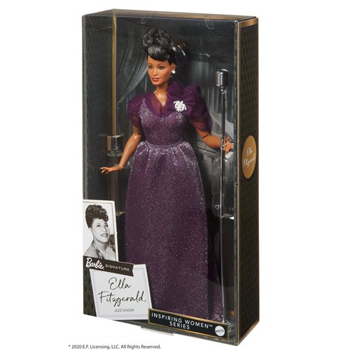 Barbie Ella Fitzgerald Inspiring Women Series Doll