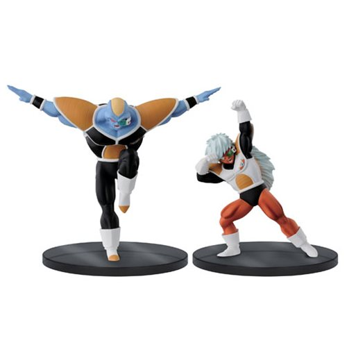 Dragon Ball Z Dramatic Showcase Burter and Jeice Statue Set