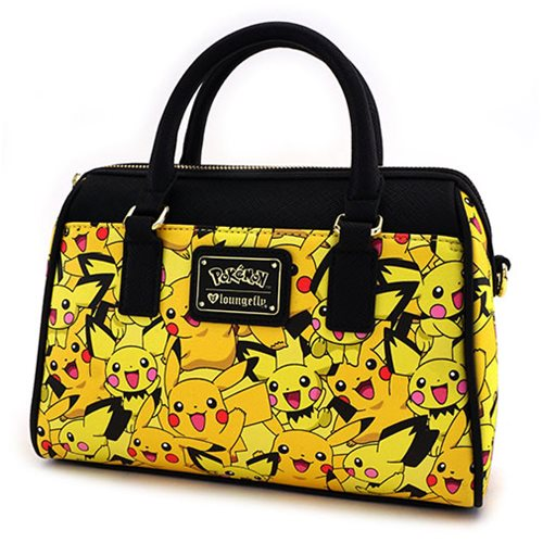 Pokemon Pikachu Pichu Print Purse